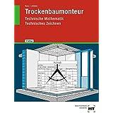 Trockenbaumonteur, Technische Mathematik, Technisches Zeichnen
