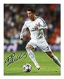 Cristiano Ronaldo - Real Madrid Autograph Signed A4 21cm x 29.7cm Photo Poster