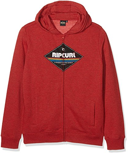 rip-curl-diamond-fleece-hz-polaire-1-2-zip-garcon-pompeian-red-ma-fr-16-ans-taille-fabricant-16