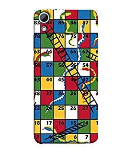 PrintVisa Designer Back Case Cover for HTC Desire 830 :: HTC Desire 830 Dual Sim (game indore game kids exciting)