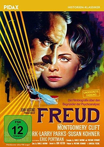 Freud/Preisgekröntes Meisterwerk von John Huston mit Montgomery Clift in ungekürzter Langfassung (Pidax Historien-Klassiker)
