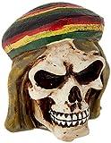 Best Custom Accessories Shift Knobs - Vintage Parts 62437 Rasta Man Skull Custom Shift Review