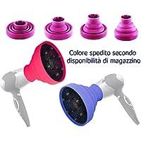 DOBO® Diffusore per phon pieghevole silicone da viaggio portatile universale phon (phon non incluso)