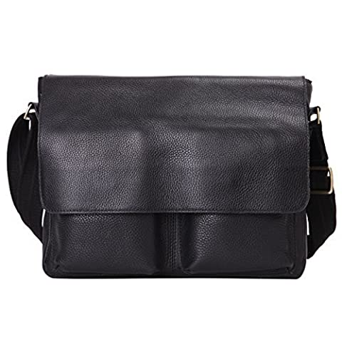 Leathario sac messager cuir homme sac commercial sac bandouliere cuir homme sac cartable cuir sac homme en cuir sac ordinateur cuir pour hommes