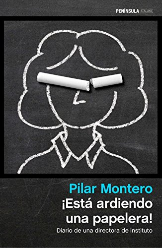 ¡Está ardiendo una papelera! : diario de una directora de instituto por Pilar Montero