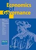 Economics of Governance  Bild
