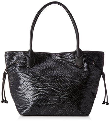 Schwarze Lange Gewand Tasche (Gabor Damen Granada Star Schultertasche, Schwarz (Schwarz), 13 x 29 x 46 cm)