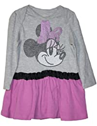 Disney Minnie Mouse 2PC Long Sleeve Dress Set 12 Months