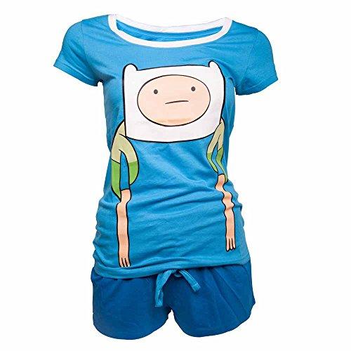 Adventure Time -  Pigiama due pezzi  - Uomo blu Small