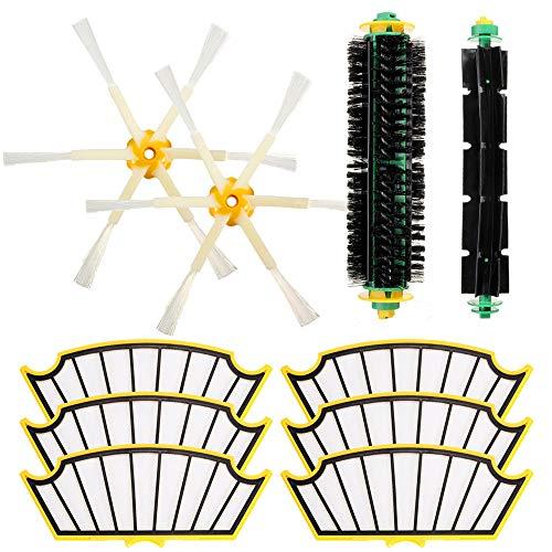Vakuum 10 Stück Reiniger Zubehör-Kit Filter und Bürsten für die Serie 500 Vacuum Cleaner - ILS -