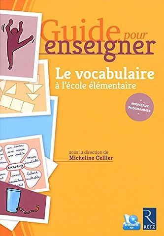 Guide pour enseigner le vocabulaire à l