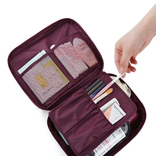 Fenrad® Multifunktions Tragbarer Reise Kosmetiktasche Kulturtasche Kulturbeutel Makeup Bag Travel Eintritt Paket Tasche Organizer Reisetasche Toiletry bag - - Tasche Organizer Make-up