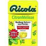 Ricola 50g s/s citron mélisse offre éco - ( Prix Unitaire ) - Envoi Rapide Et Soignée