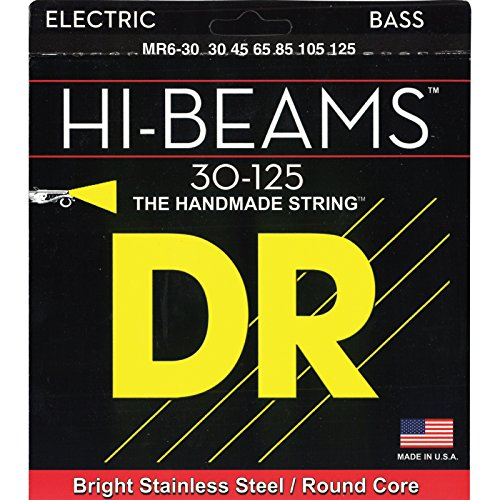 DR HI BEAM MR6 30 JEU DE CORDES MEDIUM 30 125