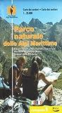 Parco naturale delle Alpi Marittime. Carta dei sentieri 1:25.000. Ediz. italiana e francese