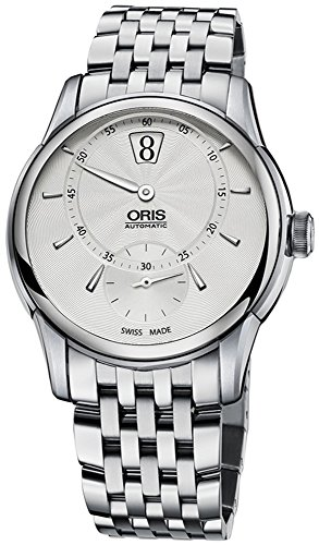Oris Artelier Jumping Hour Automatic Stainless Steel Mens Watch 917-7702-4051-MB