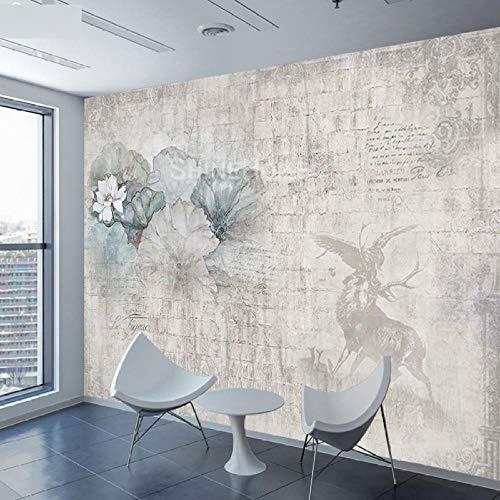 Tapete Fototapeten Wohnkultur Papier 3d Wallpapers für Wohnzimmer Wände Bild Lotus Flower Background @ 250x175cm (Lotus Flower-bild)