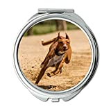 Yanteng Spiegel, Schminkspiegel, Hundeläufe Hundesport Hundeläufe Aktion, Taschenspiegel, tragbarer Spiegel