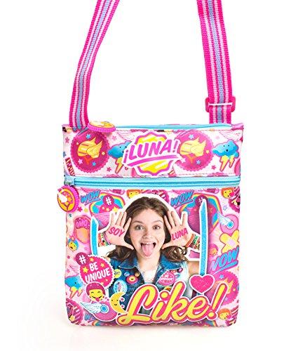 Disney Soy Luna Handtasche Schultertasche kleine Tasche Umhängetasche Soy Luna auf Rollschuhen