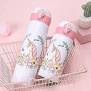 350ML 500ML mug thermos bottle cap shells flamingo pattern travel mug stainless mug