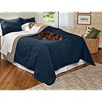 orvis reversible dogproof coverlet and matching pillowcases
