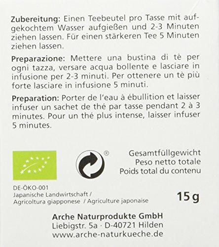 Arche Bancha 10 Beutel a Bio Tee, 1er Pack (1 x 15 g)
