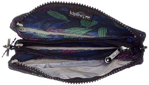 KiplingCreativity L - borsellino per monete Donna Multicolore (Orchid Garden)
