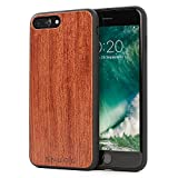 Snugg Coque iPhone 7 Plus and 8 Plus, Apple iPhone 7 Plus and 8 Plus Case Bois Housse...