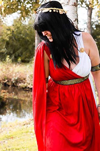 Costumi di Carnevale – Elegante costume da antica romana per donna 1be0019d38f