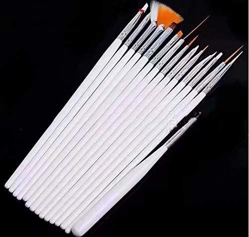 1 X 15 x Nagel Kunst Malerei Pen/Pinsel Set