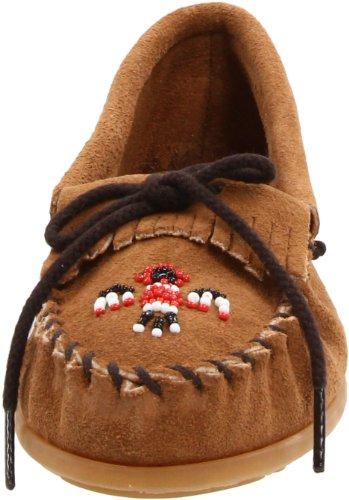 Ii É Baixos Garota Sapatos Marrons taupe Minnetonka Crianças 2607t Thunderbird Sq7HA7