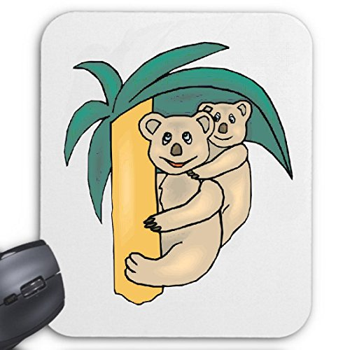 Mousepad (Mauspad) Koala Beutelbär & Baby Cartoon Zeichentrick Spass Film Serie DVD für ihren Laptop, Notebook oder Internet PC (mit Windows Linux usw.)