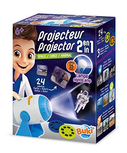 Buki France- Proyector 2 en 1 6306