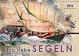 Ich liebe Segeln (Wandkalender 2018 DIN A4 quer): Sonne, Wind und Wellen bis zum Horizont. (Monatskalender, 14 Seiten) (CALVENDO Sport) [Kalender] [Apr 13, 2017] Roder, Peter