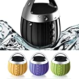 S2S Waterproof Bluetooth Speaker Subwoofer Mini Boombox (Green, Orange, Purple) at amazon
