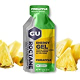 GU Roctane Ultra Endurance Energy Gel, Pineapple (Ananas), Box mit 24 x 32 g
