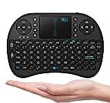 #6: Fyugo Mini Keyboard Wireless Touchpad Keyboard with Mouse Combo