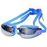 Balai UV Galvanotecnica Antifog Occhialini da Nuoto Occhiali Impermeabili Occhiali di Immersione Regolabile Adulti Professionale Proteggere Swim Occhiali