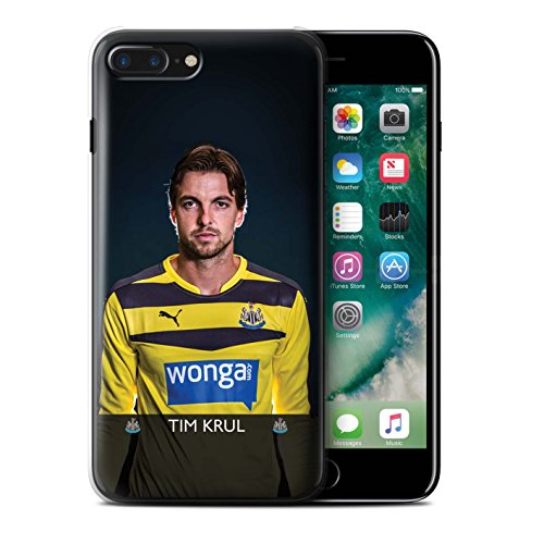 Officiel Newcastle United FC Coque / Etui pour Apple iPhone 7 Plus / De Jong Design / NUFC Joueur Football 15/16 Collection Krul