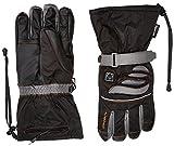 Alpenheat Fire-Glove Beheizter Ski Snowboard oder Motorradhandschuh, Schwarz, M, AG2