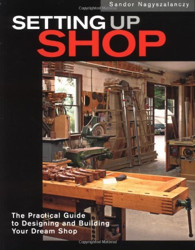 Setting Up Shop: The Practical Guide to Designing and Building You by Sandor Nagyszalanczy (2001-10-25)