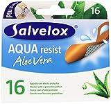 Salvelox - Cerotto di Plastica, Aqua resist, Aloe Vera - 16 Cerotti immagine