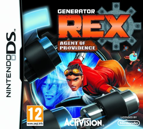 [UK-Import]Generator REX Agent Of Providence Game DS