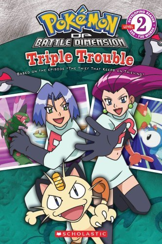Pokemon: Triple Trouble (Developing Reader, Level 2) by Whitehill, Simcha (2009) Paperback