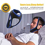 Anti Snoring Chin Strap,Adjustable Stop Snoring Jaw Strap Support Mouth Breathing Strap
