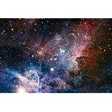 Set: Der Weltraum, Sternengeburt Im Carinanebel Poster (91x61 cm) Inklusive 1x 1art1® Collection Poster