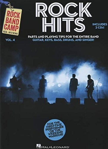 Rock Hits - Rock Band Camp Volume 4: Book/2-CD Pack by Hal Leonard Corp. (2014-04-01)