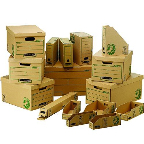 Fellowes 4472201Caisse D Archivierung Flip Top Maxi Banker Box Earth Series–Montage Handbuch (10Stück) - 3