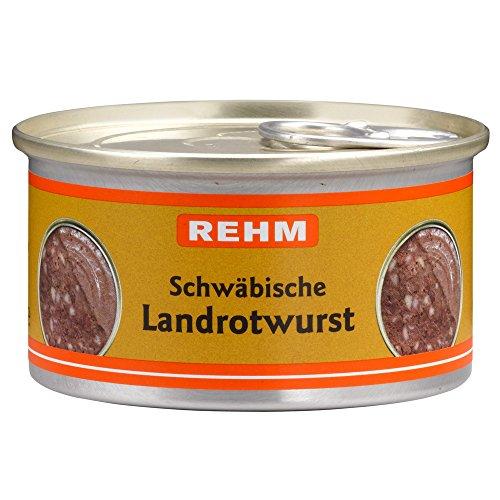 Rehm Schwäbische Landrotwurst, 12er Pack (12 x 125 g)