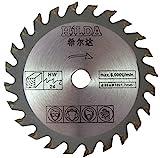 Kreissägeblatt für Titan ttb689csw von Screwfix 85mm Durchmesser x 10mm Bohrung x 24T Holz Cutting Sägeblatt